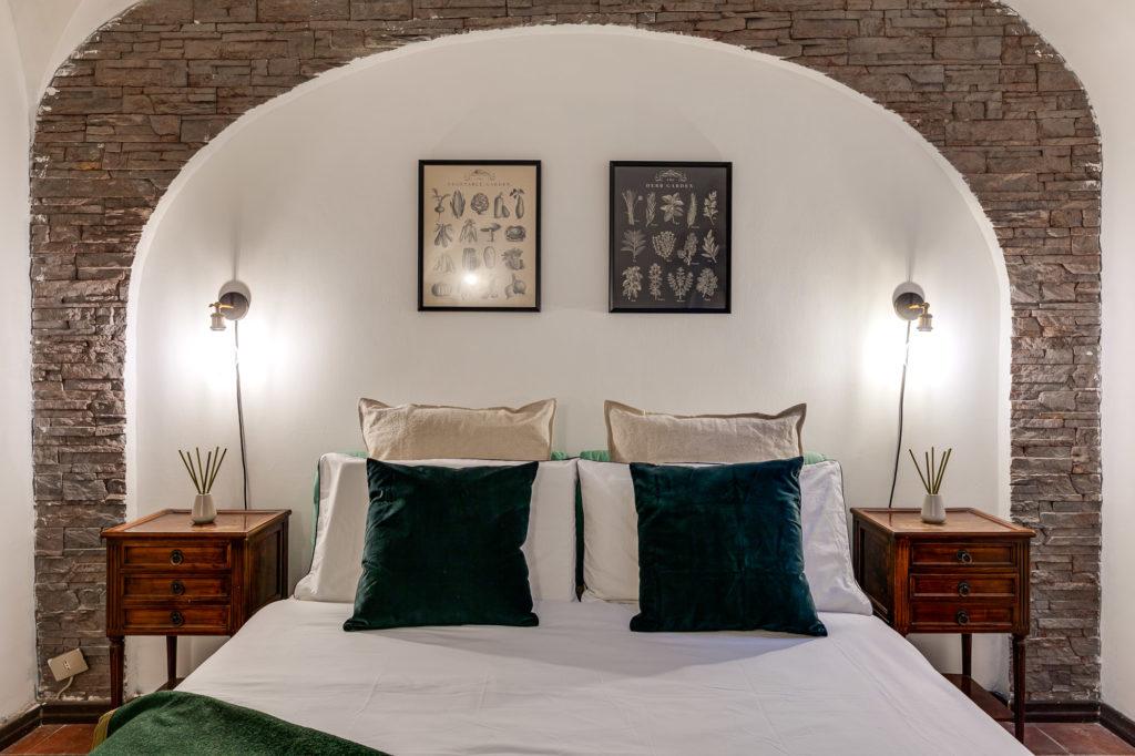Camera da letto dopo l'intervento di Home Staging di Homethic